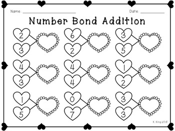 Valentine's Day Printables - Math and ELA