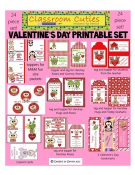 Valentine's Day Printables Set