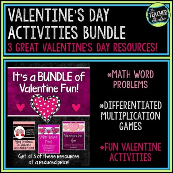Valentine's Day Product Bundle:  Grades 3-5