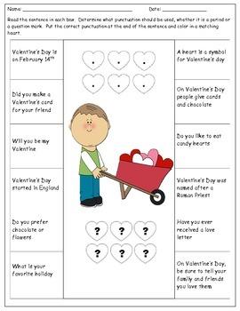Valentine's Day Punctuation