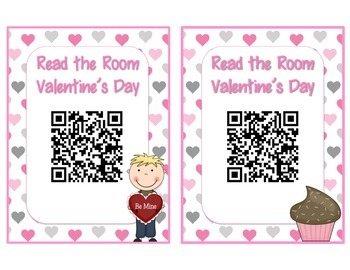 Valentine's Day QR Code - Read the Room