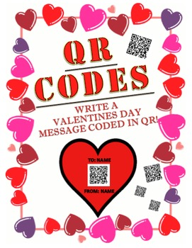 Valentines Day QR Coded Message