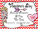 Valentine's Day QR Task Cards {Area & Perimeter}