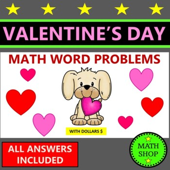 Valentines Day Math – 14 questions for the 14th (US Version)