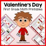 Valentine's Day No Prep Common Core Math (first grade)