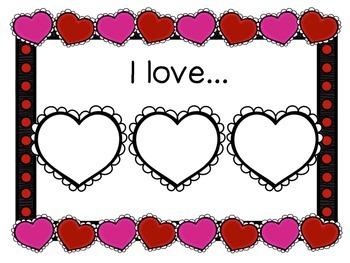 Valentine's Day Quick Writing Activities