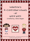 Valentine's Day R-Controlled Vowel -er Word Work