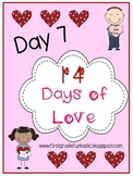 Valentine's Day Raising Self Esteem Activity:  Day 7 of 14 Days of Love