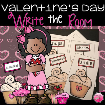 Valentine's Day Read & Write the Room Activity