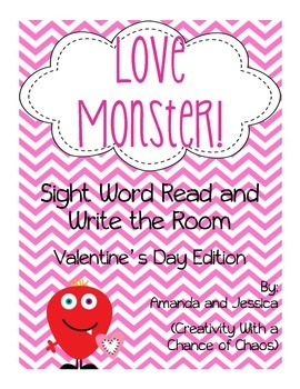 Valentine's Day: Read and Write the Room