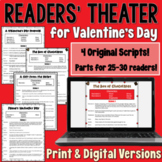 Valentine's Day Readers' Theater Set with 4 scripts!  | PDF and Digital |