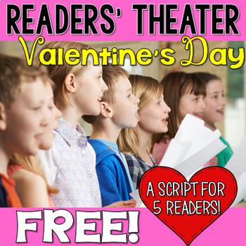 Valentine's Day Readers' Theater FREEBIE