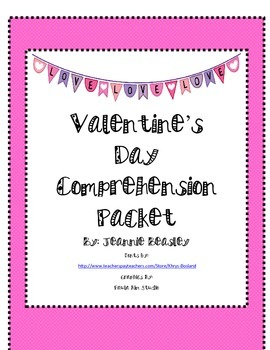 Valentine's Day Reading Comprehension