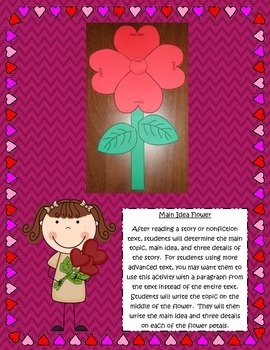 February & Valentine's Day Reading Comprehension Book Craftivities For Any Book!