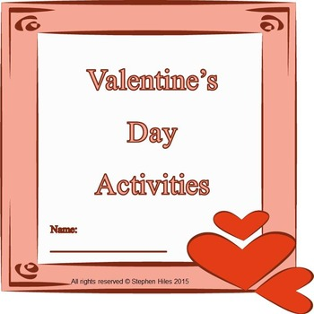 Valentine's Day Reading & Math Resource