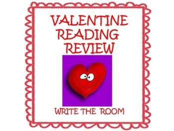 Valentine's Day Reading Review: Write the Room