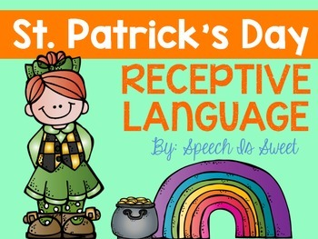 St. Patrick's Day Receptive Language