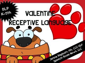 Valentine's Day Receptive Language Packet