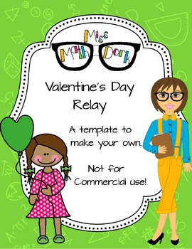 Valentine's Day Relay template - Personal Use Only!