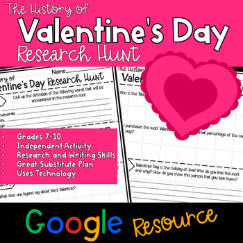 Valentines Day Research Hunt - Google Edition