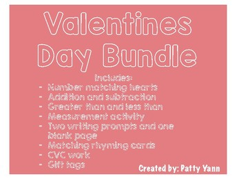 Valentines Day Resource Packet