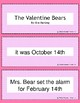 Valentine's Day Retell and Sequence Cards: The Valentine Bears