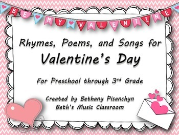 Valentine's Day Rhymes, Poems, & Songs - Music