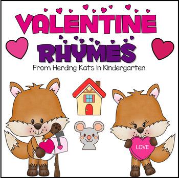 Valentine's Day Rhyming Match-up