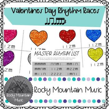Valentines Day Rhythm Races