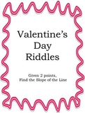 Valentine's Day Riddles - Find the Slope Given 2 points