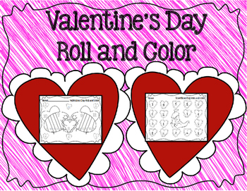 Valentine's Day Roll and Color Math!