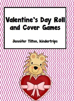 Valentine's Day Roll and Cover Games