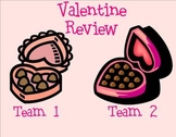 Valentine's Day SMART Board Instant Review Game