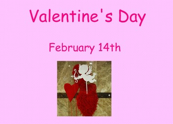 Valentine's Day SMART notebook Lesson