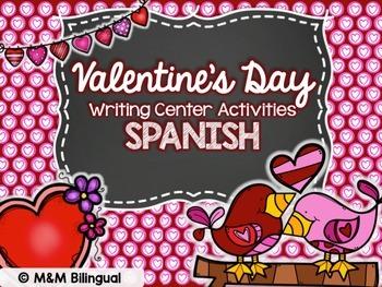 Valentine's Day - {SPANISH} Writing Center