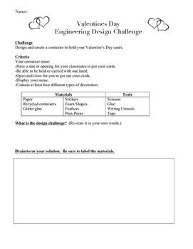 Valentines Day STEM Challenge
