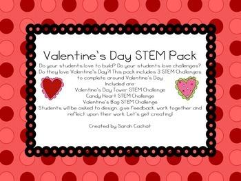 Valentine's Day STEM Pack