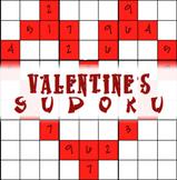 Valentine's Day SUDOKU - teachmehowtoALGE