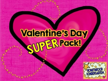 VALENTINE'S DAY MEGA PACK!  Everything you need for a PERF