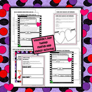 Valentine's Day Science Activities (Grades K-2 and 3-8 Sets)