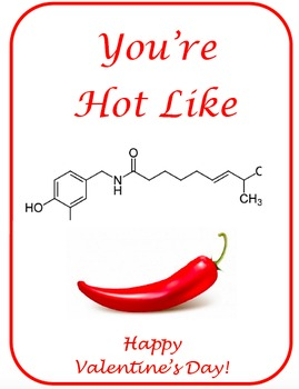 Valentine's Day Science Valentines