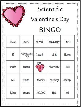 Valentine's Day Science (Print & go!!)