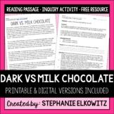 Valentine's Day Science Investigation: Dark vs. Milk Chocolate