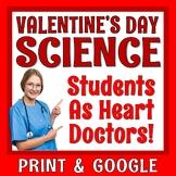 Valentines Day Science NO PREP Activity: Circulatory System & Heart Disease