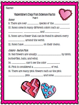 Valentine's Day Activity - Scavenger Hunt