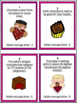 Valentine's Day Science Activity - Scavenger Hunt