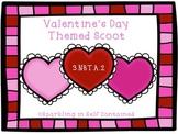 Valentine's Day Scoot (Three digit addition)