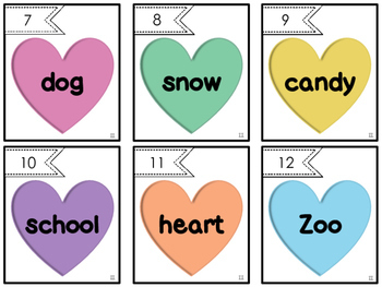 Valentine's Day Scoot: Noun Edition