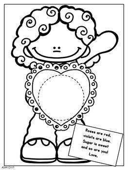 Valentine's Day See-Inside Craft
