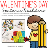 Valentine's Day Sentence Builders